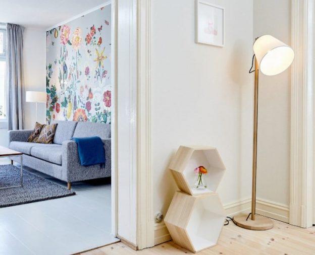 Habitacion decorada de blanco