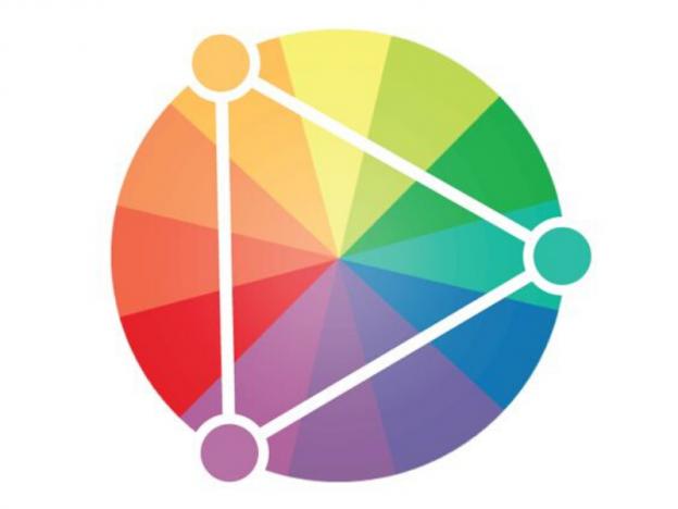 Triada de colores