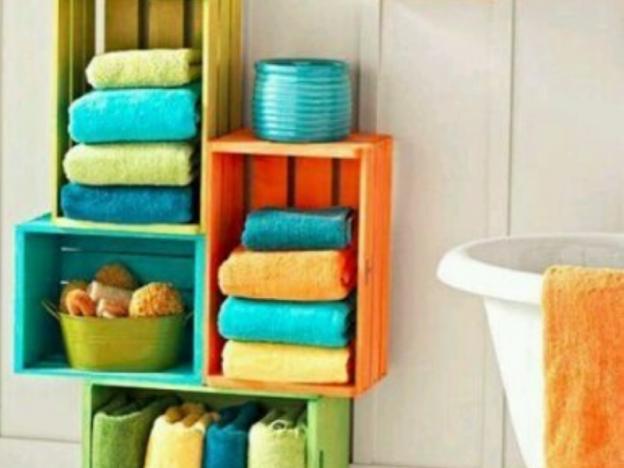 baño colorido