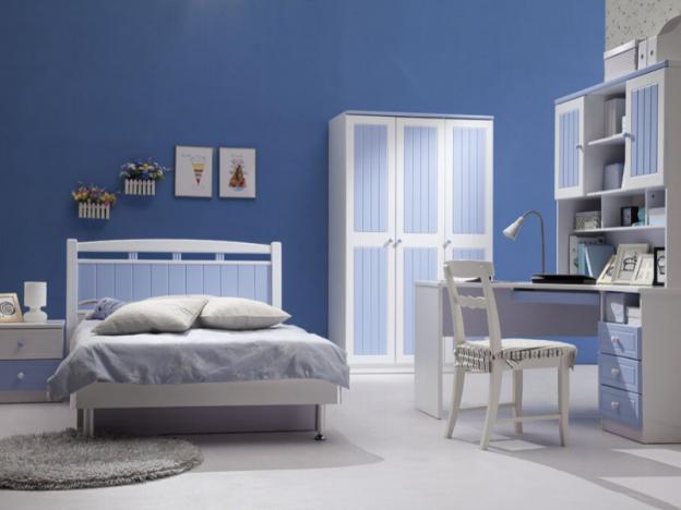 habitacion azul