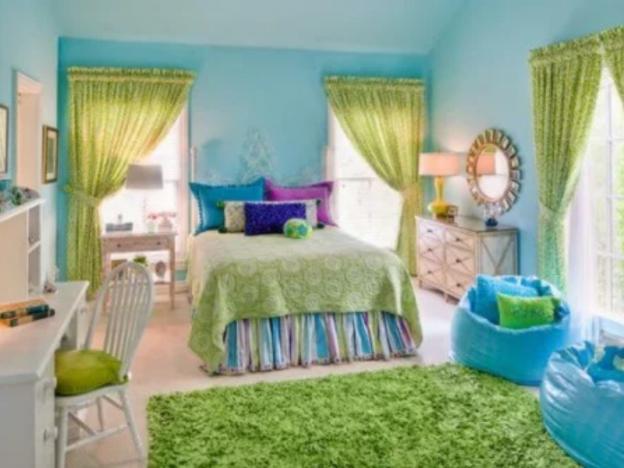 habitacion colorida