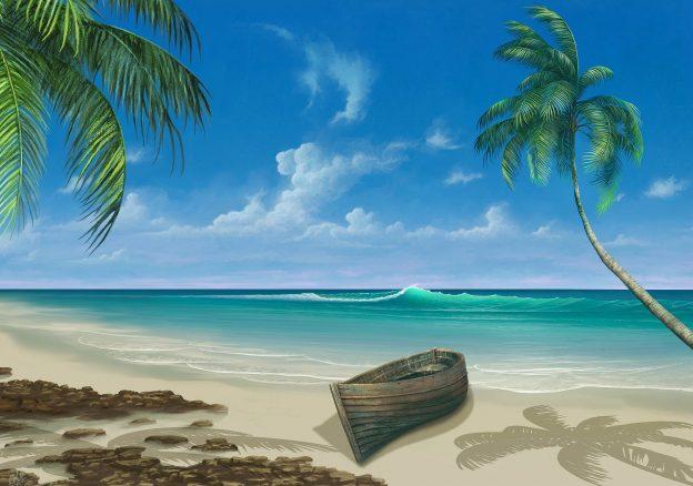 Pinutra inspirado en la playa