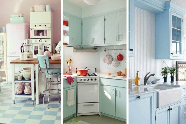 cocinas vintage modernas