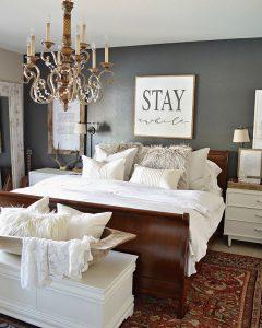 dormitorio estilo vintage