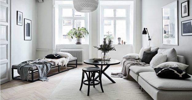 sala color blanco sucio