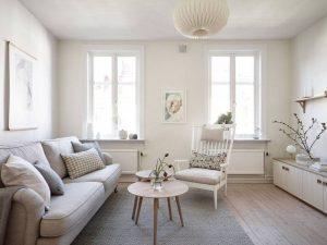sala de estar blanco chantilly