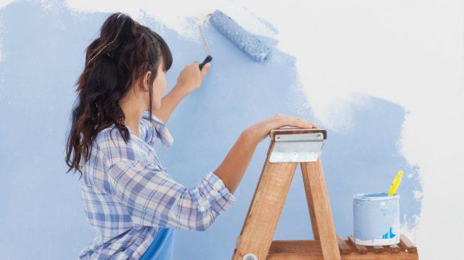 pintar las muros _ chica